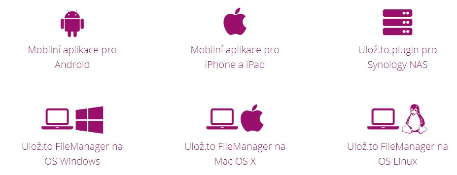 Aplikace Ulozto_cz