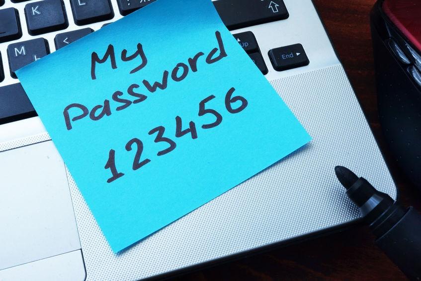 slabe heslo